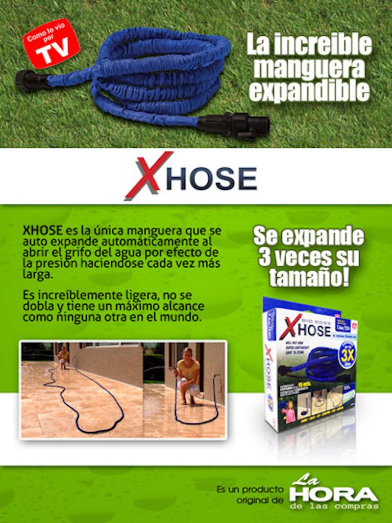 Manguera Expandible 7.6 Metros - XHose
