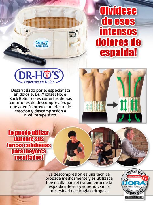 Cinturón Dr. Ho - Talle A (62.5 A 102.5 Cm)