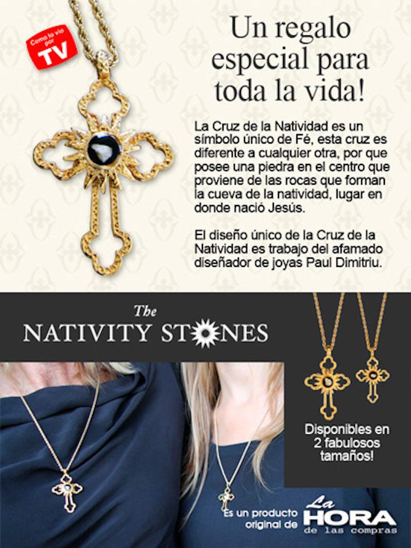 Cruz De La Natividad - Pequeña