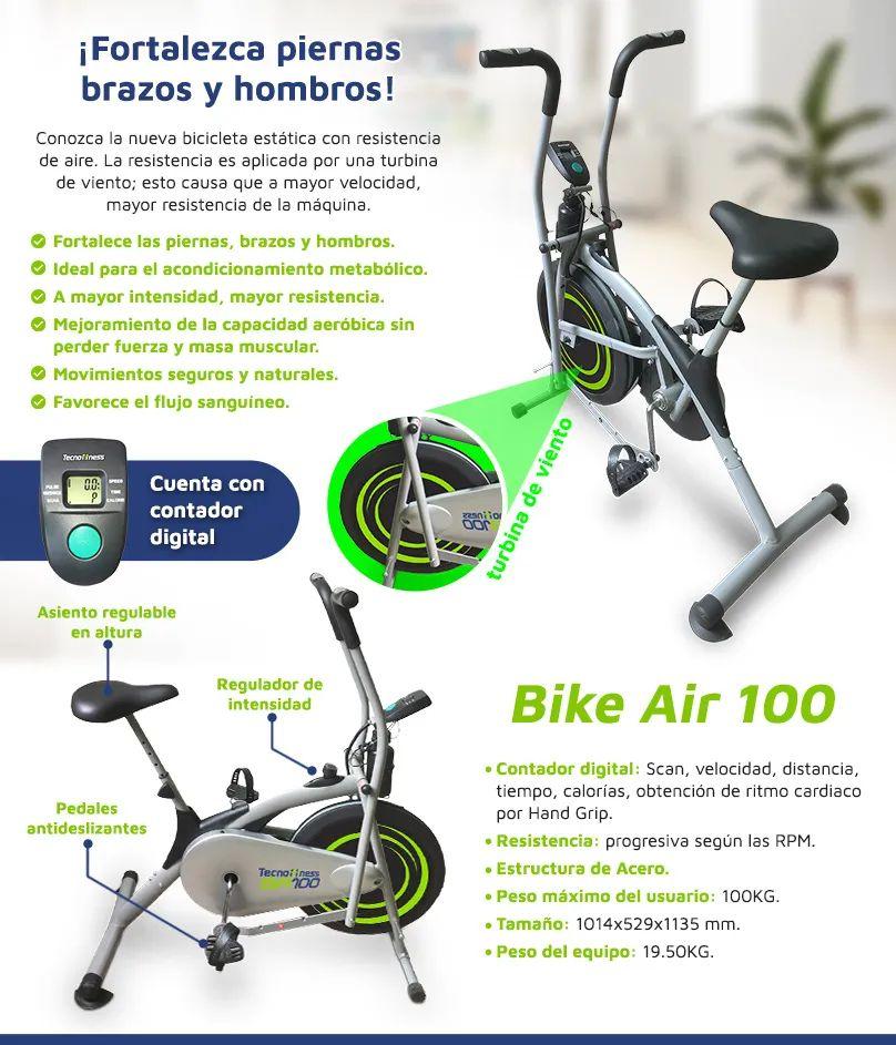 Bicicleta estática 100 BA (Bike Air)