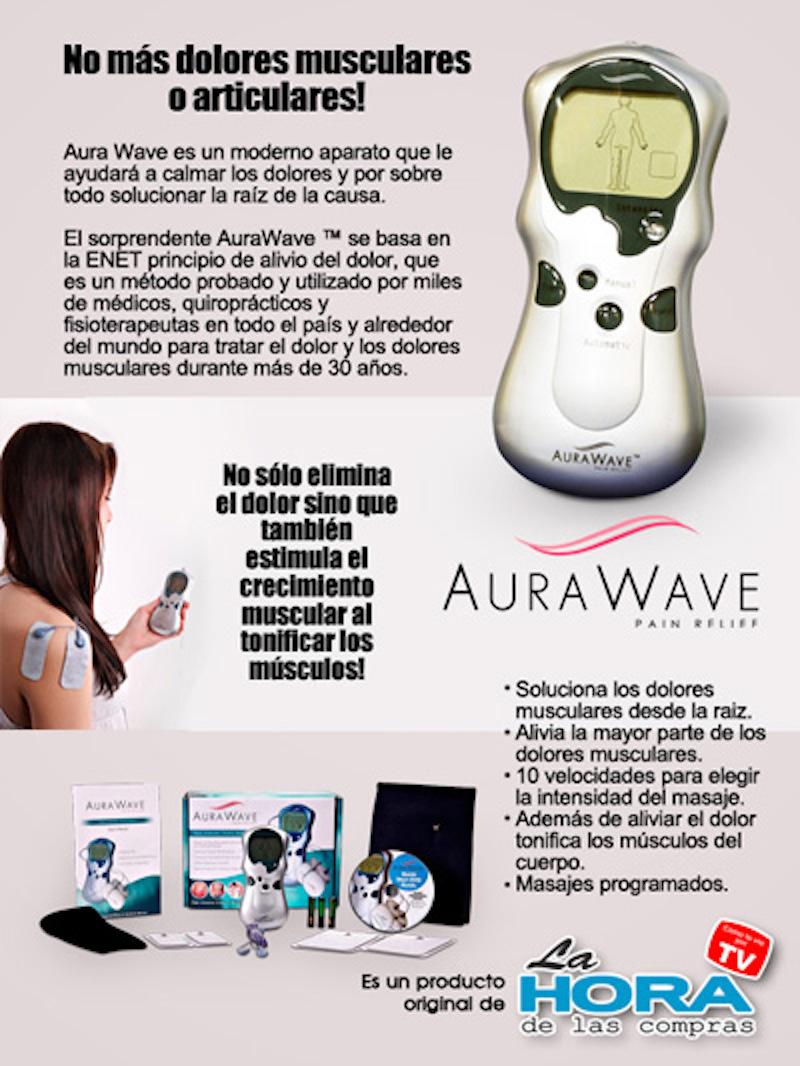 Elimine el Dolor con Aura Wave