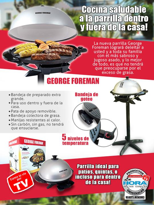 George Foreman Parrilla Redonda
