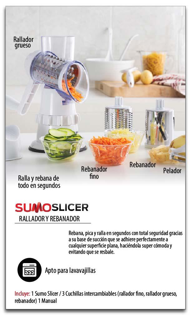 Multiprocesador Manual Sumo Slicer
