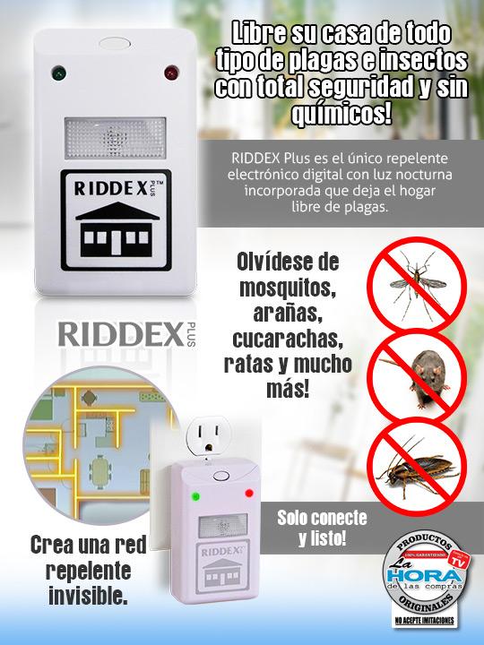 Anti Insectos Riddex Plus