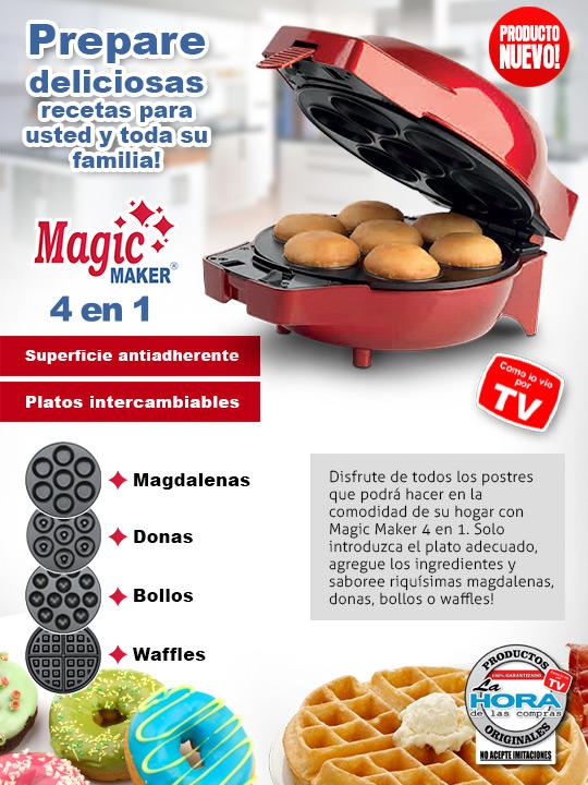 Maquina de postres Magic Maker 4 en 1