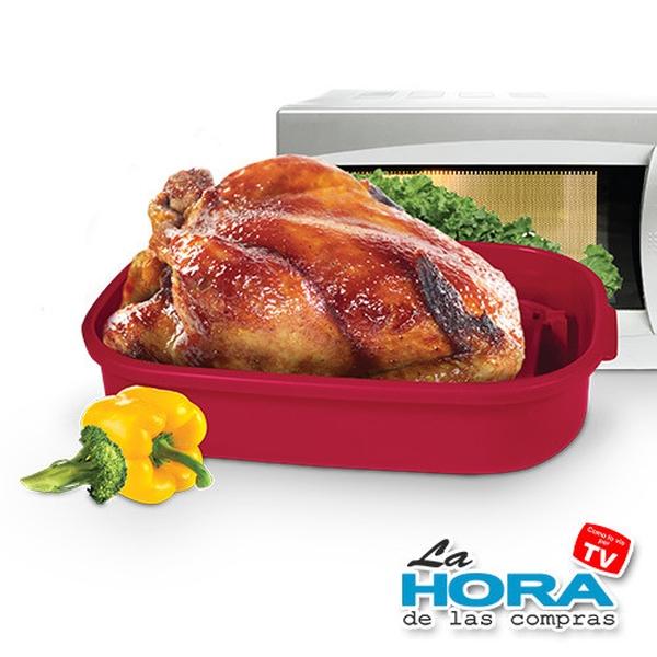 Sartén para Microondas Tasty Roaster