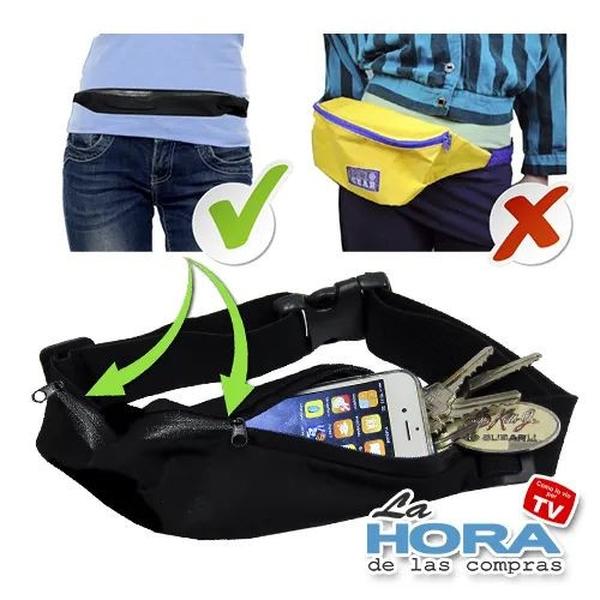 Carry All Slim Belt (bolsillos expandible)