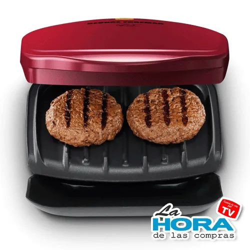Mini George Foreman (Color Rojo)