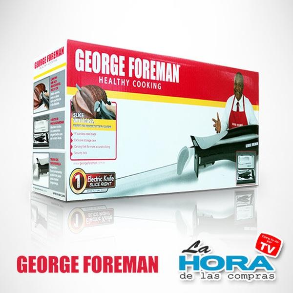 George Foreman Cuchillo Eléctrico