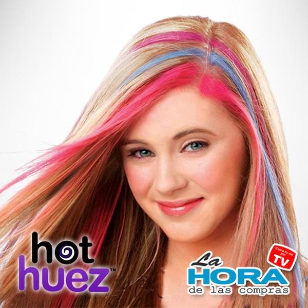 Tiza para cabello Hot Huez