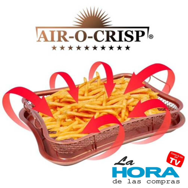 Bandeja de Cocción Air O Crisp (Red Rock Crisper Tray)