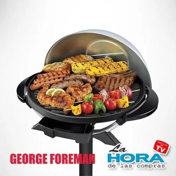 PD6 - George Foreman Parrilla Redonda (Con Detalles)