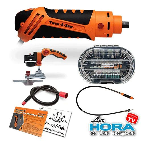 Multiherramienta Twist A Saw (Kit Deluxe)